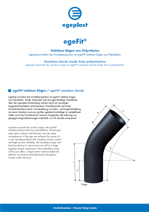 Flyer egeFit® Nahtlose Bögen