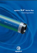 Verarbeitungsrichtlinie SLA® Barrier Pipe