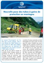 Projet_preview_Nouvelle pose des tubes a gaine de protection en montagne