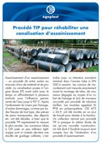 Projet_preview_Procede TIP pour rehabiliter unse canalisation d´assainissement