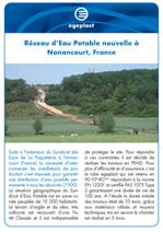 Projet_preview_Reseau d´eau potable nouvelle a nonancourt France