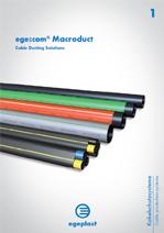 Broszura ege-com® Macroduct