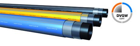Das HexelOne® SLM Hochdruckrohrsystem ist für einen Betriebsdruck von 16 bar für Gasrohrleitungen und 30 bar für Wasserrohrleitungen einsetzbar.