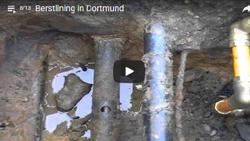 Berstlining einer Graugussleitung in Dortmund mit egeplast SLM® RCplus-Gasrohren