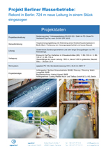 Record in Berlin: 724 m of new pipe drawn in one piece