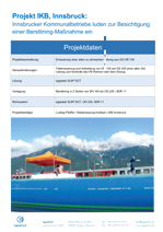 Construction site tourism in Innsbruck