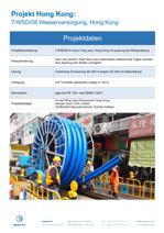 7/WSD/08 in Kwun Tong area, Hong Kong, Erneuerung der Wasserleitung