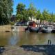 Wasserleitung Groningen Gracht Reitdiep im HDD-Verfahren in 15m Tiefe