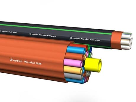Hier finden Sie alle Informationen zu Kabelschutzrohrsystemen für Telekommunikation und Glasfaser