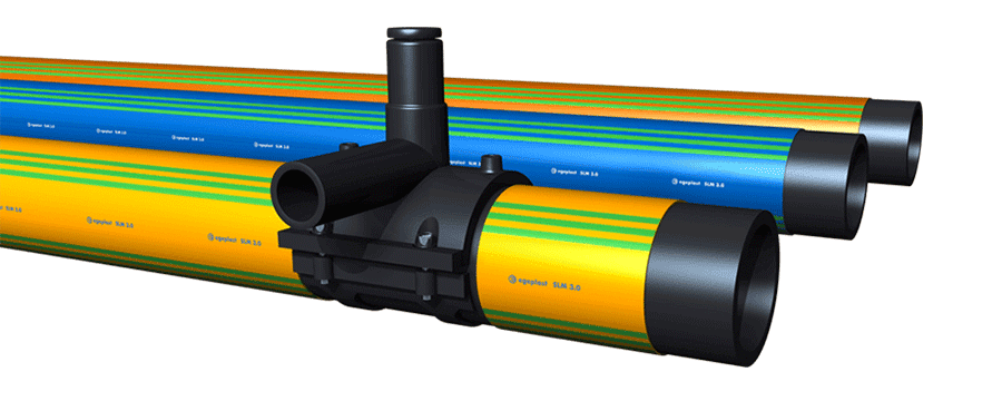 SLM 3.0 pipe system for gas pipelines