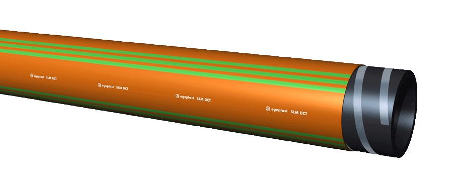 Teaser Image for an SLM DCT Pipe system of egeplast