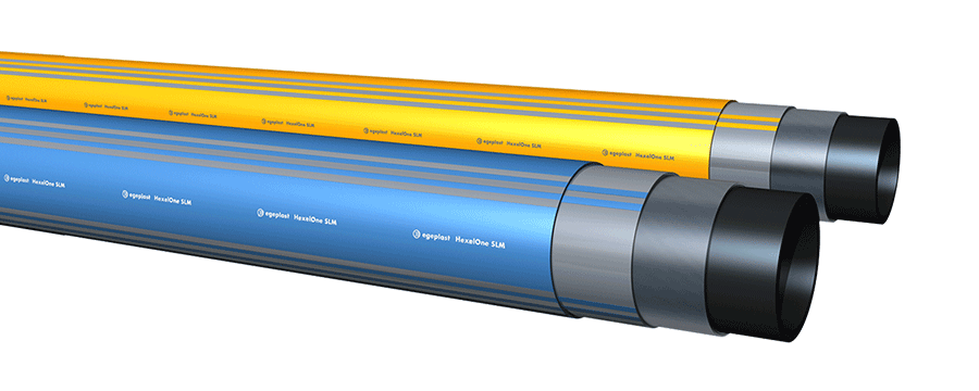 HexelOne SLM pipe system for gas pipelines
